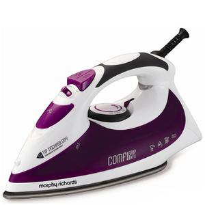 Morphy Richards 300006 2200W Comfigrip Steam Iron - Purple