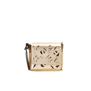 KENZO Women's Essentials Mini Cross Body Bag - Gold