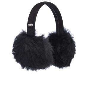 UGG Women's Classic Wired Sheepskin Earmuffs - Black