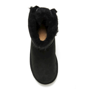 UGG Kids' Mini Bailey Bow Boots - Black: Image 3