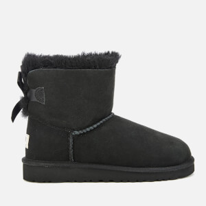 UGG Kids' Mini Bailey Bow Boots - Black: Image 1