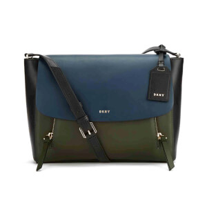 DKNY Women's Greenwich Small Messenger Bag - Navy Multi