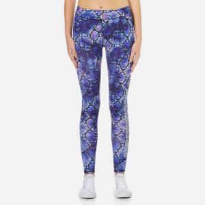 Superdry Women's Core Gym Leggings - Purple Python