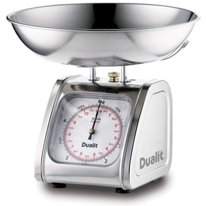 Dualit 87006 Kitchen Scales - Stainless Steel