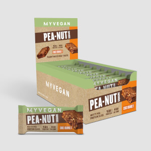 Myprotein Pea-Nut Square, Chocolate, Cashew & Orange, 18 x 50g