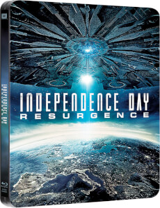 Independence Day: Contraataque (3D + versión 2D) - Steelbook Ed. Limitada Exclusivo de Zavvi