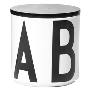 Design Letters Multi Jar - Black