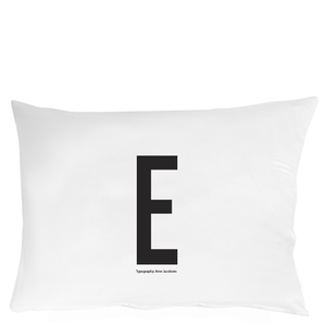 Design Letters Pillowcase - 70x50 cm - E