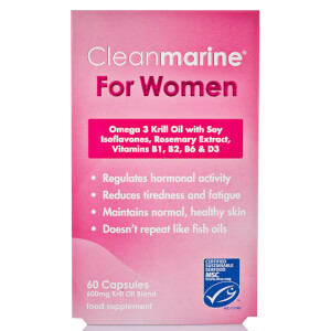 Cleanmarine Krill Oil for Women - 60 Gelkapseln (600 mg)