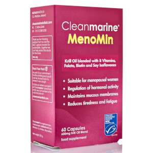Cleanmarine Krill Oil for Men - 60 Gel Capsules (600mg): Image 2