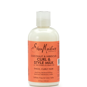 Shea Moisture Coconut & Hibiscus Curl & Style Milk 254мл