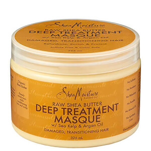 Shea Moisture Raw Shea Butter Deep Treatment Masque 生乳木果油深層護理髮膜 326ml