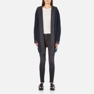 French Connection Women's Double Sided Vhari Coat - Charcoal