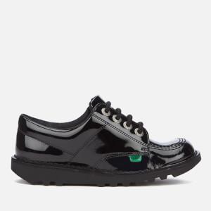 Chaussures Vernies Kickers Enfants Kick Lo - Noir
