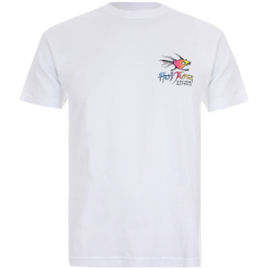 T-Shirt Homme Hot Tuna Rainbow -Blanc