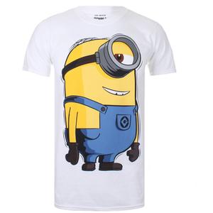 Minions Herren Large Stuart T-Shirt - Weiß