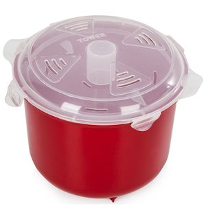 Tower T90815R Microwave Rice Steamer 2.6L