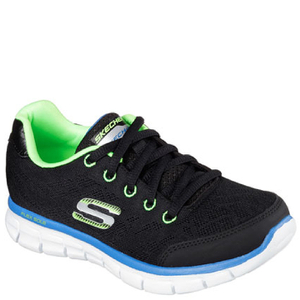 Skechers Kids' Synergy Fine Tune Trainers - Black
