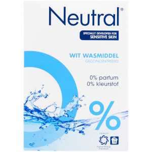 Neutral 0% White Laundry Washing Powder - 1.188kg