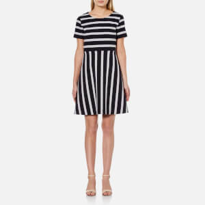 BOSS Orange Women's Amody Stripe Dress - Multi