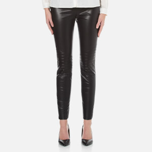 BOSS Orange Women's Saledy Faux Leather Leggings - Black