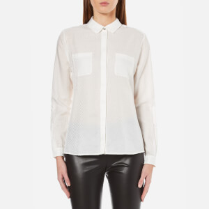 BOSS Orange Women's Ejey Shirt - White