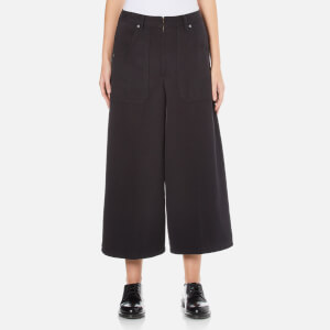 Marc Jacobs Women's Patch Pocket Culotte Trousers - Black