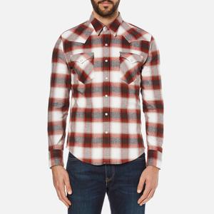 Levi's Men's Barstow Western Shirt - Ferula Sun Dried Tomato