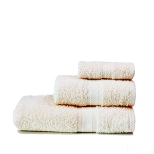 Restmor Knightsbridge 100% Egyptian Cotton 3 Piece Towel Bale Set (500gsm) - Ivory