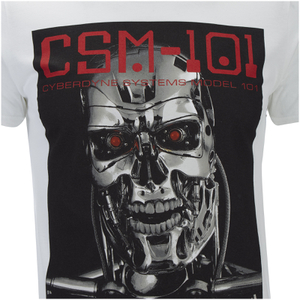 Terminator Men's CSM 101 T-Shirt - White: Image 5