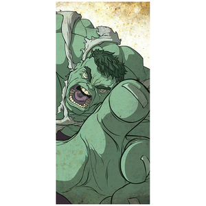 "Green Giant Hulk Inspired Fine Art Print - 16.5"" x 9.7"""