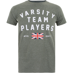 Camiseta Varsity Team Players Union - Hombre - Verde militar