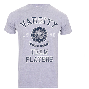 Camiseta Varsity Team Players Needle & Thread- Hombre - Gris