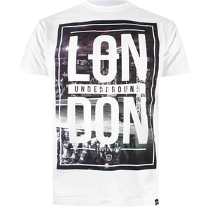 "Camiseta Cotton Soul ""London Underground"" - Hombre - Blanco"