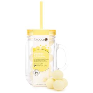 Bubble T Bath & Body - Bath Fizzers in Reusable Jar 11 x 20g (Lemongrass & Green Tea)