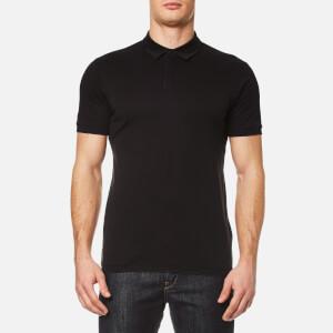 HUGO Men's Duxor Patterned Polo Shirt - Black