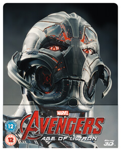 Avengers: Age Of Ultron 3D (Includes 2D Version) - Zavvi UK Exclusive Lenticular Edition Steelbook