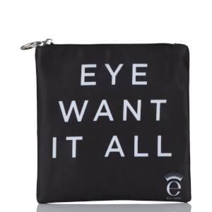 "Eyeko Collectible ""Eye Want It All"" Bag - Black"