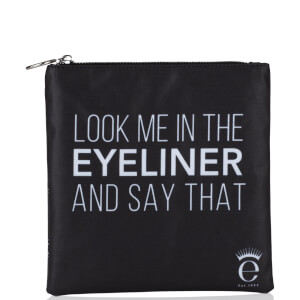 "Eyeko Collectible ""Look at me in the Eyeliner and say that"" Bag - Black"