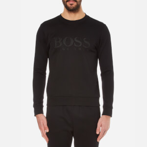 BOSS Green Men's Salbo Logo Sweatshirt - Black