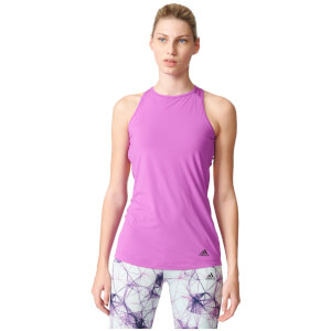 adidas Women's Flex Training Bra Tank Top - Purple