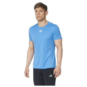 adidas Men's Sequencials Climalite Running T-Shirt - Blue