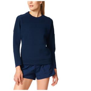 adidas Women's ZNE Training Crew Sweatshirt - Navy
