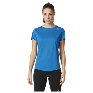 adidas Women's Sequencials Climalite Running T-Shirt - Blue