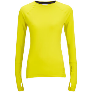 adidas Women's Climaheat Training Long Sleeve Top - Yellow