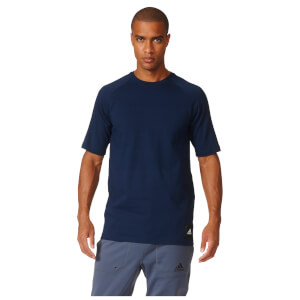 adidas Men's City 2 Graphic Training T-Shirt - Navy