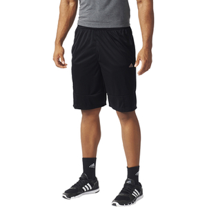adidas Men's Swat Plain Training Shorts - Black