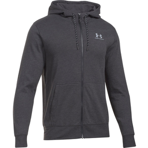 Under Armour Men's Triblend Full Zip Hoody - Asphalt Heather