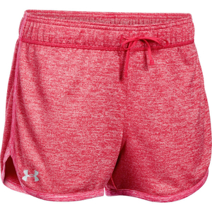 Under Armour Women's Tech Twist Shorts - Knock Out/Pink Sky
