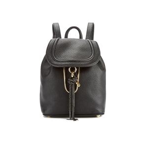 Diane von Furstenberg Women's Love Power Leather Backpack - Black